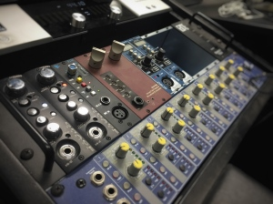 An array of pro quality preamps